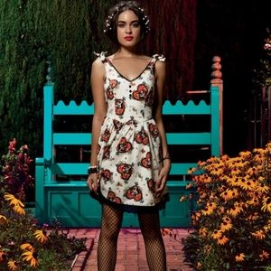 NWT Day Of The Dead Book Of Life Dress S/M